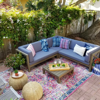 Outdoor Living Room With Overstock