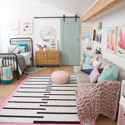 A Cotton Candy Kids Room For Two