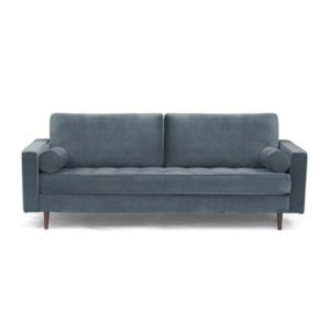 I Also Love That This Option Has No Loose Cushions At All Which Combined With The Walnut Legs Allows It To Have A More Modern Feel