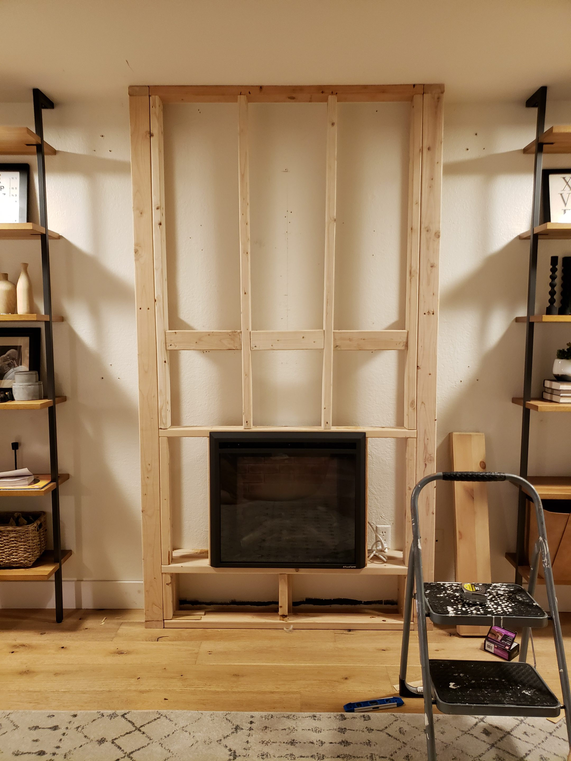 Diy Electric Fireplace How To Tutorial Kismet House